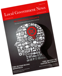 Local Government News magazine cover
