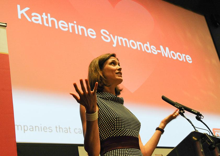 Public speaker at The CSR 2014 Awards