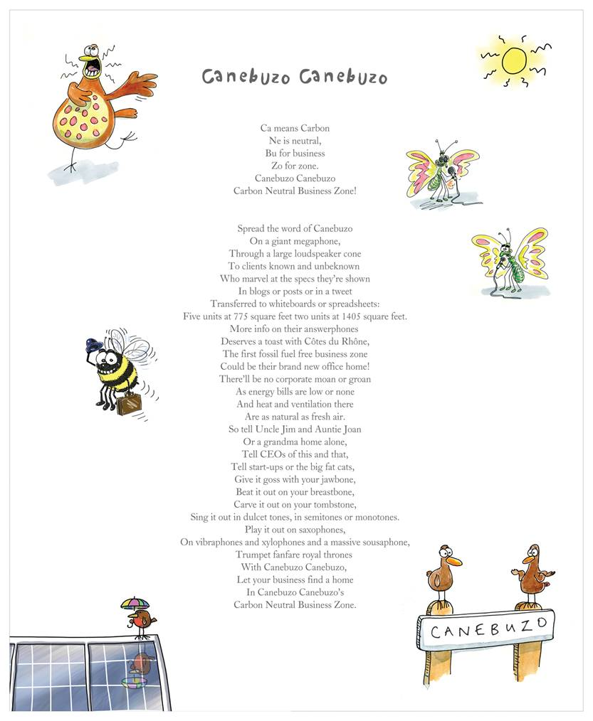 Canebuzo Poem