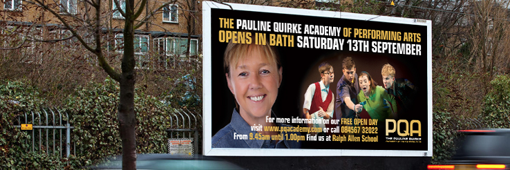 Pauline Quirke Academy promotional material