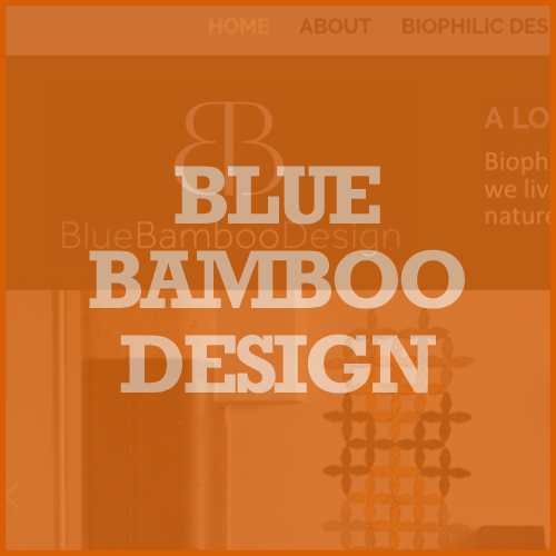 Blue Bamboo Design