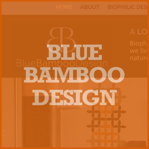 Blue Bamboo Design