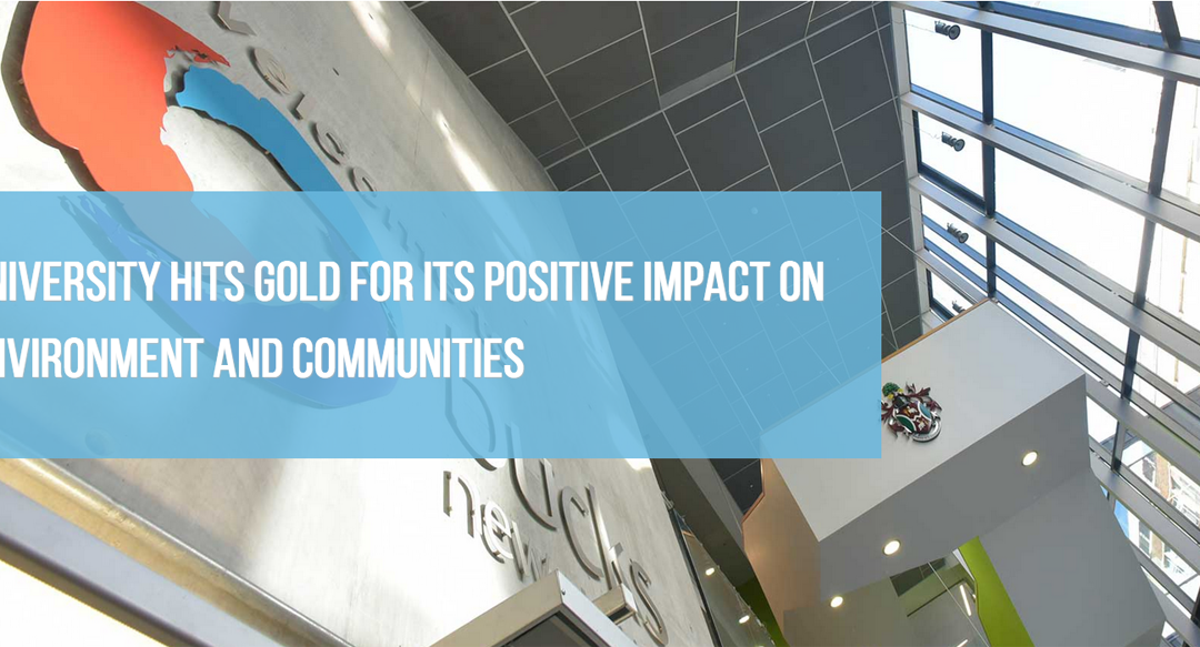 Bucks New University achieves a Gold CSR Accreditation.