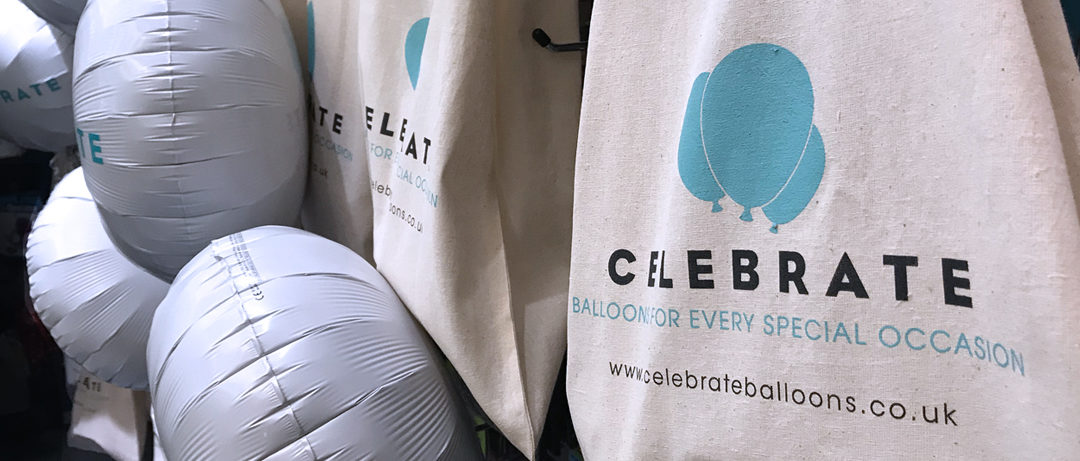 Celebrate Balloons launch their new Brand Identity
